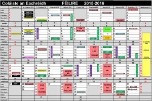 féilire 2015-16