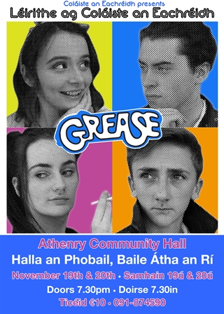 GREASE poster 1