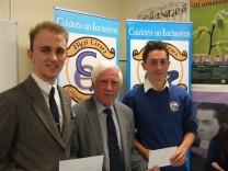 CREDIT UNION Bursary Recipients 2016, Ciarán Mac Choncarraige agus Seán Ó Conaill