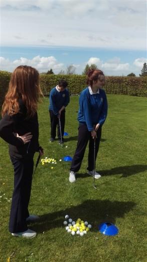 TY golfing