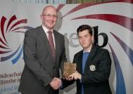 GRETB Awards 2017 - Mícheál, Capain Of All-Ireland Winning Volleyball Team Senior ' B' Boys