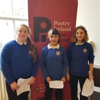 Students poetry published