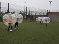 Bubble Soccer Tag Archery
