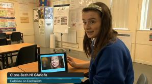 Ciara agus an App a chruthaigh sí