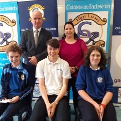 Aitheanta ag TechFéile Náisiúnta - Seanie, Eoin agus Elliott
