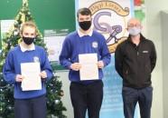 Seanie & Eoin i gcuideachta le Máistir Sean Ó Briain